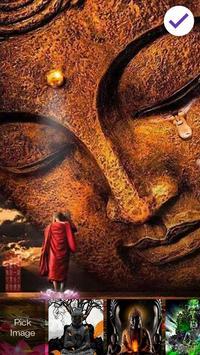 Buddha Meditate Lock Screen screenshot 2