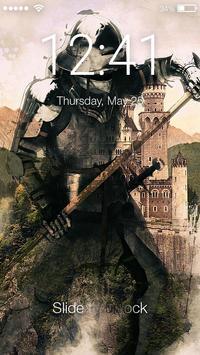 Knight Lock Screen poster