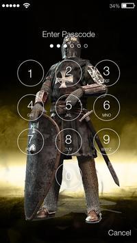 Knight Lock Screen screenshot 1