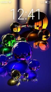 3D Lock Screen poster