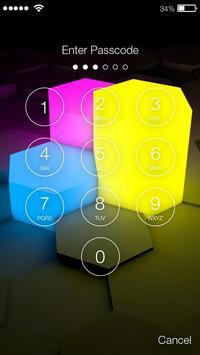 3D Lock Screen screenshot 1