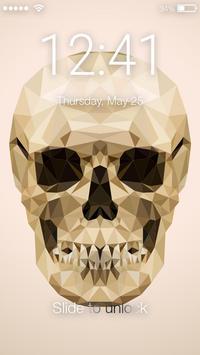 Skull Screen Lock poster