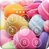 Cute Makaron Lock Screen & AppLock Security icon