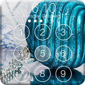 Christmas Mystic Holiday Simple PIN Lock Screen icon