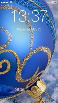 Christmas Mystic Holiday Simple PIN Lock Screen poster