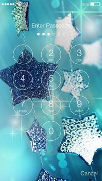 Christmas Mystic Holiday Simple PIN Lock Screen apk screenshot
