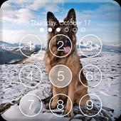 Clever German Shepherd Dog HD Lock Screen icon