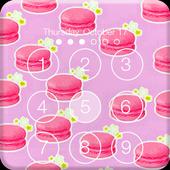 Colorful Sweet Macaron Lock Screen Pass Code icon
