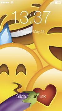 Emoji Lock Screen HD PIN Passcode poster