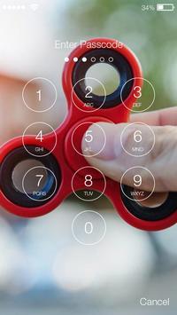 Fidget Spinner Real PIN Lock Screen Wallpaper apk screenshot
