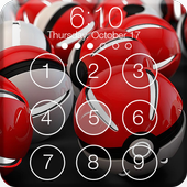 Lock Screen for Pokeball PIN & AppLock Security icon