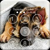 Real German Shepherd PIN HD Lock Screen Keypad icon