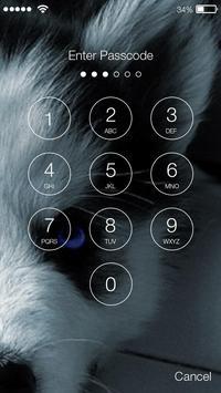 Siberian Husky Puppies Lock & AppLock Security screenshot 1