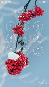 Winter Snow Pass Code PIN & AppLock Security apk screenshot