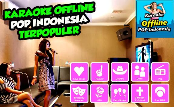 Karaoke Offline POP Indonesia Paling Populer screenshot 2