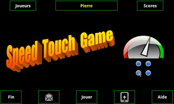 Speed Touch Game poster