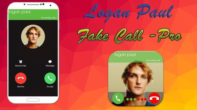 Logan Paul Fake Call poster