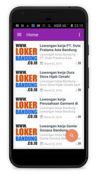 Loker Bandung screenshot 1