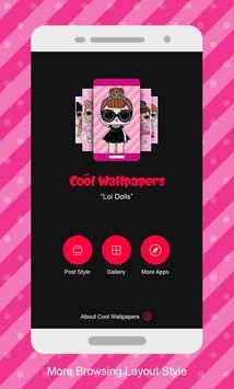 Wallpaper for Surprise Lol Dolls poster