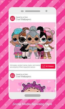 Wallpaper for Surprise Lol Dolls screenshot 2