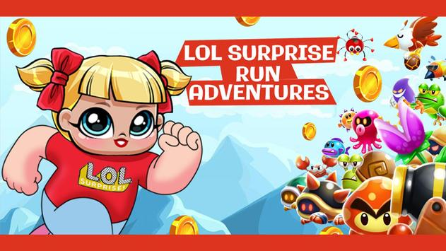 Super Dolls - Lol Surprise run game poster