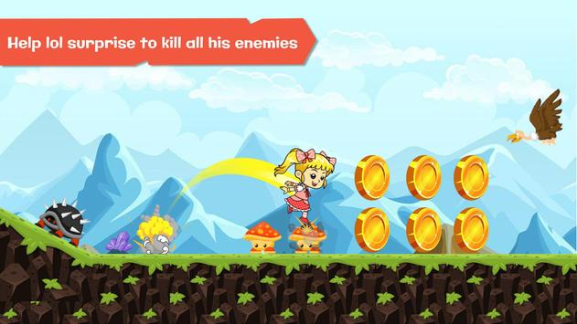 Super Dolls - Lol Surprise run game screenshot 1
