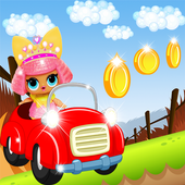 Lol surprise racing doll icon