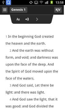 KJV Bible - New screenshot 2