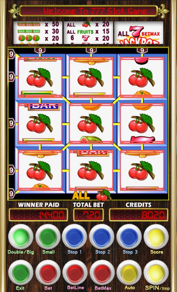 777 Fruit Slot Machine Cherry Master For Android Apk