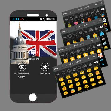 London City Keyboard Theme PRO poster