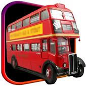 London Double Decker Bus Drive icon