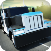 Long Distance Truck Driver 3D icon
