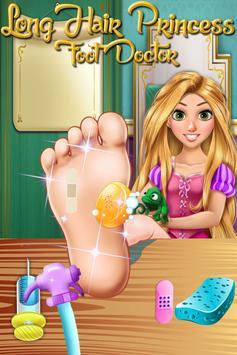 Long Hair Princess Foot Doctor screenshot 2