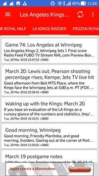 Los Angeles Kings All News screenshot 1