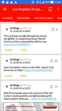 Los Angeles Kings All News screenshot 2
