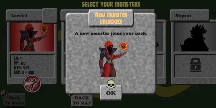 Monster Tactics apk screenshot