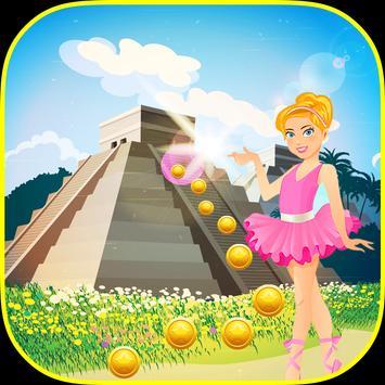 Gold Temple Ballerina Running Princess screenshot 15