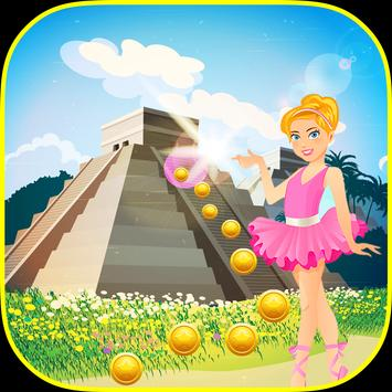 Gold Temple Ballerina Running Princess screenshot 11