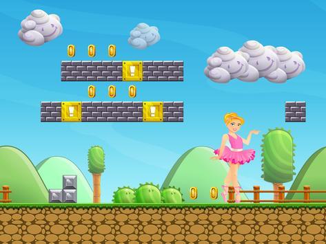 Gold Temple Ballerina Running Princess screenshot 4
