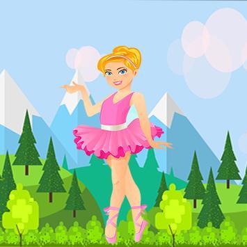 Gold Temple Ballerina Running Princess screenshot 5