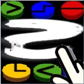 swipe symboles icon