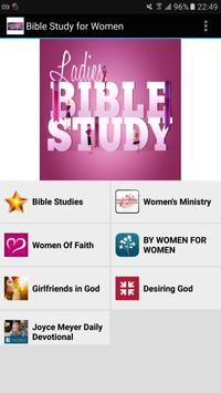 Bible Study for Women Free poster