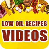 Low Oil Vegetarian Recipes  - Low Cholesterol Food icon