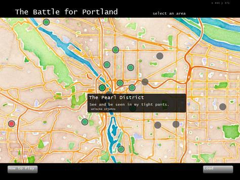 Battle for Portland poster