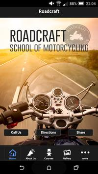 Roadcraft Motorcycle Training poster