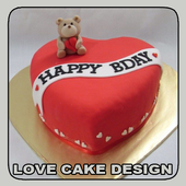 Love Cake Design icon