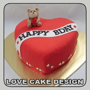 Love Cake Design poster
