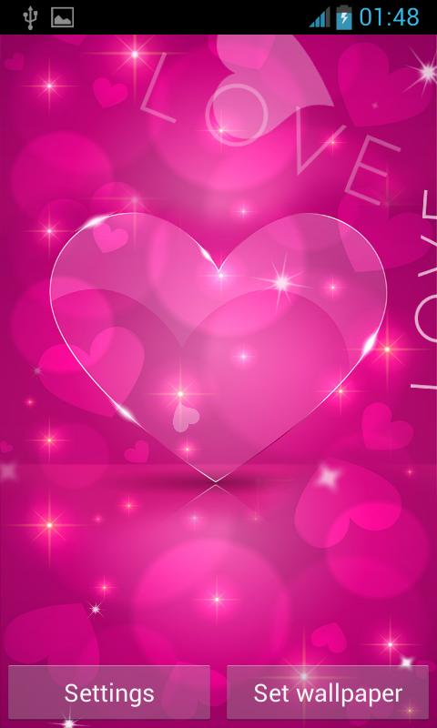 Love Hearts Live Wallpaper For Android Apk Download