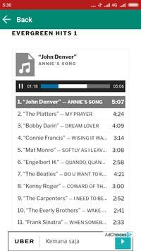 Love Songs Evergreen Hits screenshot 1