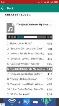 Love Songs Evergreen Hits screenshot 3
